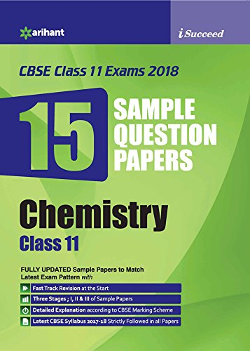 15 Sample Question Papers Chemistry Class 11th CBSE