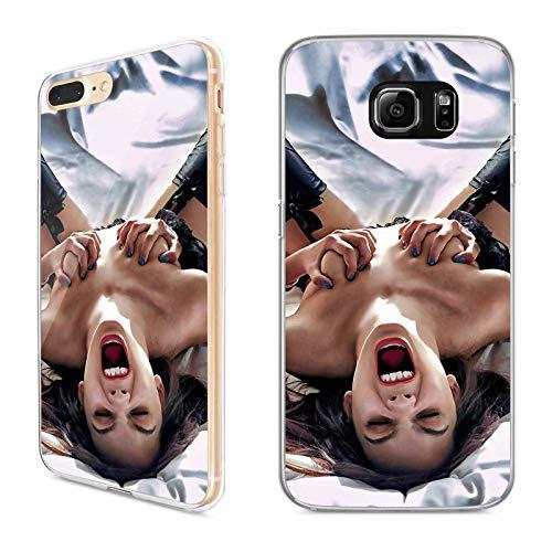 Premium Handyhülle 'Erotik' für Samsung Galaxy - Silikon | Sexy | Nackt | Haut | Lesben | Brüste | Küssen | BH, Handy:Samsung Galaxy S8 Plus, Hüllendesign:Design 4 | Silikon Klar - Erotik Modelle
