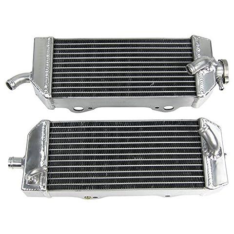 ALLOYWORKS Tous les Radiateur en Aluminium pour KTM 400 450 525 560 SX/MXC/EXC/SMR 2003-2006 2004 2005
