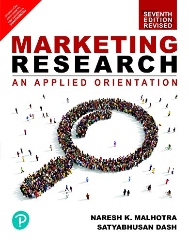 Marketing Research An Applied Orientation Revised Edition