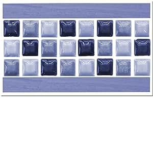 6 Quot Tile Border 30 Seaspray Tile Border Stickers For