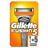Gillette Fusion5 Rasoir Pour Homme + 5 Lames (rasoir offert)