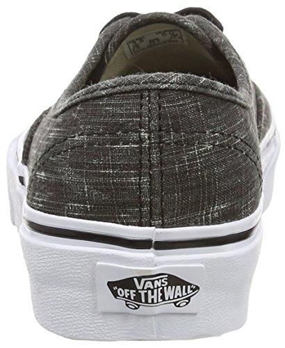 Vans U Authentic Denim Chevron, Sneakers, Unisex Nero (Black (Denim Chevron - Black/True White))