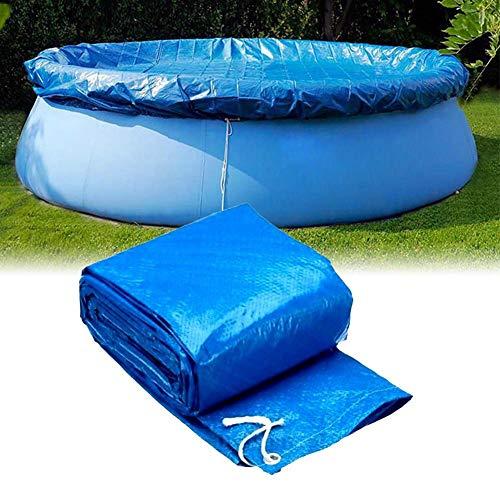 Yves25Tate Poolplane Rund Pool Abdeckung Staubschutz Für Aufblasbare Schwimmbad, Round Pool Cover 244 Cm/305 Cm/366 Cm/457 cm