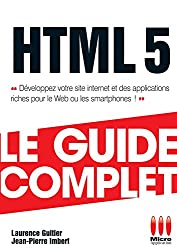 GUIDE COMPLET£HTML 5