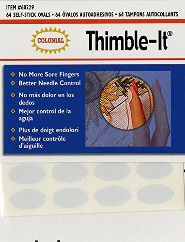 Colonial Nadel selbstklebend thimble-it Finger pads-6