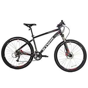 Btwin Rockrider 540 Mountain Bike (S),Grey