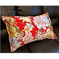 ayuxin Single-Sided 100% Silk Pillowcase Envelope Pure Silk Pillowcase Cushion Suitable For Healthy Sleep Printing Silk Pillowcase Single-Sided Silk Bedding Silk Silk Rayon