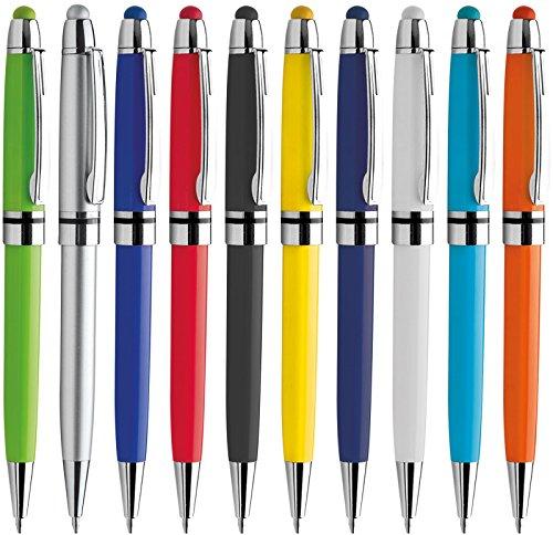 Penne personalizzabili personalizzate con nome logo o slogan gadget promozionali - pc pd089 - 100 pezzi stampa 1 colore