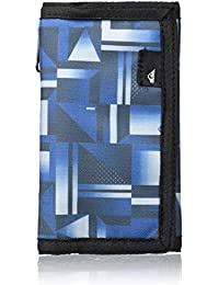 Quiksilver The Everyday - Cartera para Hombres, hombre, THE EVERYDAY, blue miror, large