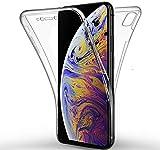 New&teck Coque 360 Degré iPhone XS – Protection intégrale Avant + Arrière en...