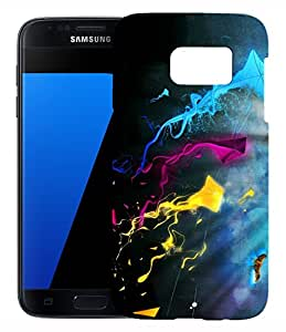 XUWAP 3D Printed Designer Hard Back Case For Samsung Galaxy S7 Design-10145