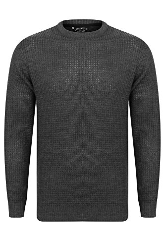 Kensington Eastside Herren Sweatshirt Charcoal - Grey