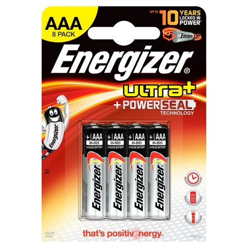 Energizer Ultra+ Alkaline Batterie AAA Micro 8er Pack Aaa 8 Energizer