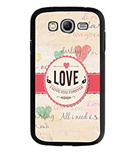 PrintDhaba Quote D-5589 Back Case Cover for SAMSUNG GALAXY GRAND NEO (Multi-Coloured)