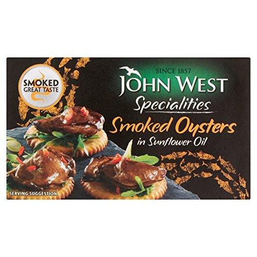 John West geräucherte Austern 85g