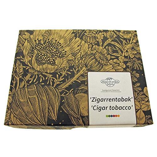 """""""Zigarrentabak"""" Samen-Geschenkset mit 3 traditionellenTabaksorten zur Zigarrenherstellung"""
