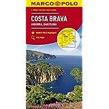 MARCO POLO Karte Costa Brava, Andorra, Perpignan, Barcelona 1:200 000 (MARCO POLO Karten 1:200.000)