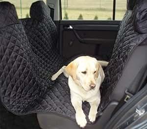 tierlando® couvercle de siège de voiture, capot de protection de voiture, couverture de chien, voiture couverture 160 x 140 cm, noir - SM-160-03