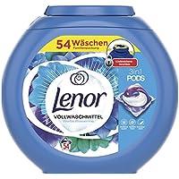 Lenor 3in1 Pods Vollwaschmittel, Weiße Wasserlilie (54 Waschladungen)