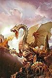 Dragon - Sword & Sphere - Fantasy Poster Drachen - Grösse 61x91,5 cm