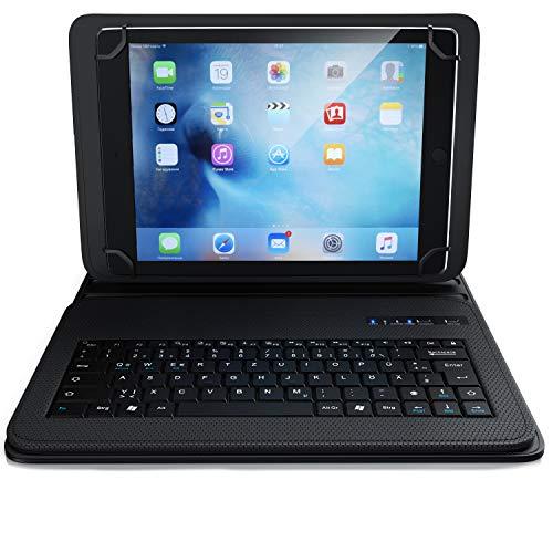 CSL - Bluetooth Tastatur mit Schutzhülle für 9-12