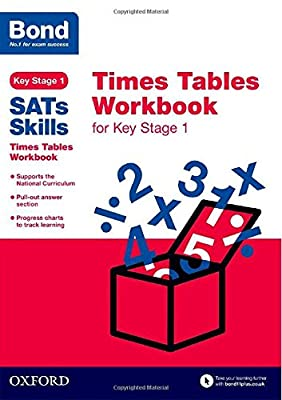 Bond SATs Skills: Times Tables Workbook for Key Stage 1 by OUP Oxford