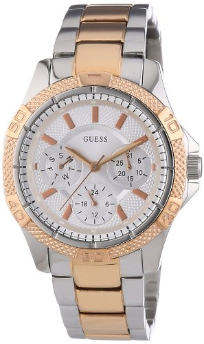 W0235L4 Guess Women s Quartz Analogue Watch-Stainless Steel Strap  Multicoloured 20eaa2adbfb8