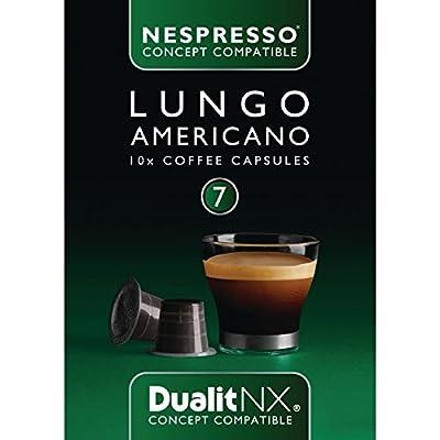 Dualit NX Capsules Lungo Americano Pack quantity: 50