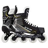 CCM Tacks 9060R Junior Roller Hockey Skates, Weite :D, Größe:39