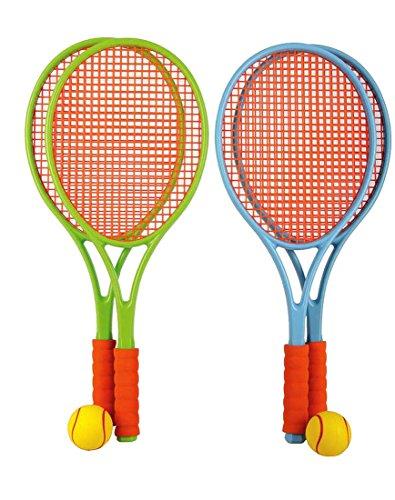 Preisvergleich Produktbild Family Tennis Set mit Bespannung Kinder Tennisschläger Softball