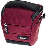 Dorr 456511 Halter Mouvement sac photo pour 1x petite caméra du système avec 2 verres / petits accessoires (taille: S) rouge
