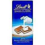 Chocolat Lindt Swiss Classics Double Lait (100g) - Paquet de 6