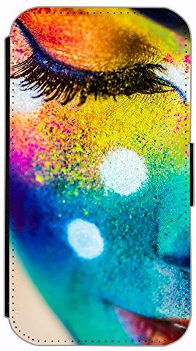Flip Cover für Apple iPhone 6 / 6S (4,7 Zoll) Design 410 Che Guevara Kuba Tattoo Style Hülle aus Kunst-Leder Handytasche Etui Schutzhülle Case Wallet Buchflip mit Bild (410) 426