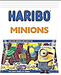 HARIBO MINIONS.5x180g BAGS