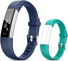 TOOBUR Reloj Inteligente para Mujer Hombre Niños, Pulsera Actividad con Cuenta Pasos y Calorias, Podómetro Smartwatch...