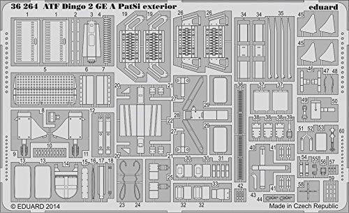 Eduard Photoetch 1:35 - ATF Dingo 2 GE A PatSi Exterior (Revell)
