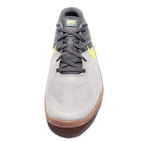 Nike Herren Metcon 3 Gymnastikschuhe Osso Grigio Scuro / Volt-pale Grigio Chiaro