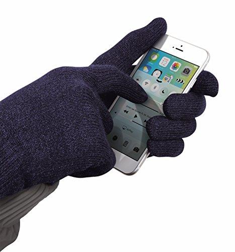 Trust Urban Sensus - Guantes para pantalla táctil, talla L/XL, color azul