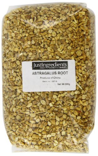 JustIngredients Tragantwurzel, Astragalus Root, 1er Pack (1 x 500 g)