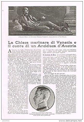 Gino Piva - LA CHIESA MARINARA DI VENEZIA E IL CUORE DI UN ARCIDUCA D'AUSTRIA
