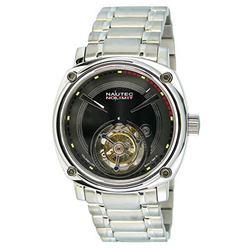 Nautec No Limit Men's Watch XL Victory Analogue Hand Winding Stainless Steel TB-VC-NE-STSTST-BK