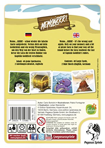Pegasus-Spiele-18324G-Memoarrr-Kartenspiel