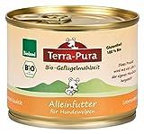 Terra Pura Bio-Hundenassfutter Geflügelmahlzeit für Welpen, 24er Pack (24 x 200 g)