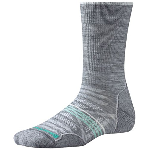 Smartwool Damen Phd Outdoor Light Crew Socken, Light Gray, M Smartwool Outdoor-socken