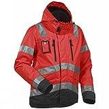 Blakläder Funktionsjacke High-Vis Klasse 3 Größe XL in Rot/Schwarz, 1 Stück, 483719775599XL
