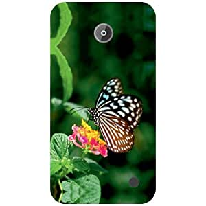 Nokia Lumia 630 Back Cover - Butterfly Designer Cases