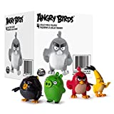 Angry Birds 6028739 - Online Collectible Figure, 4 Pack