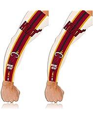 NBA Miami Heat Tattoo Arm Sleeves, NBA Manchons Coudières, paire