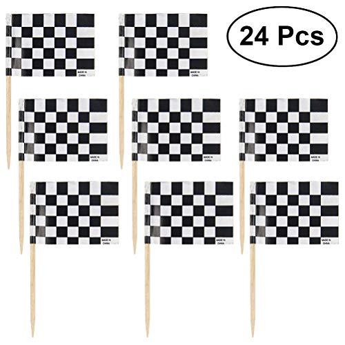 cing Flag Picks Food Fruit Zahnfleischpicks Cupcakes Toppers Party Dekoration Cocktail Sticks für Themen Party Dekorationen ()